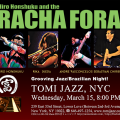 Racha Fora at Tomi Jazz 2017-03-15