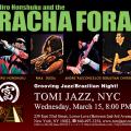 Racha Fora at Tomi Jazz 2017-03-15