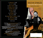 Racha S'Miles CD Back Cover