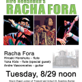 Racha Fora at King's Chapel 2017-08-29