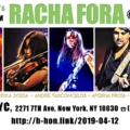 Racha Fora at Shrine NYC 2019-04-12